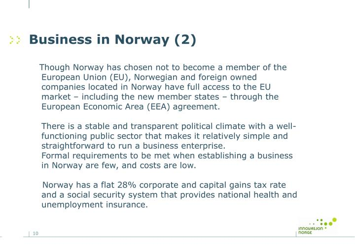 Business in Norway (2)