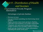 unit 9 distribution of wealth and incomes16