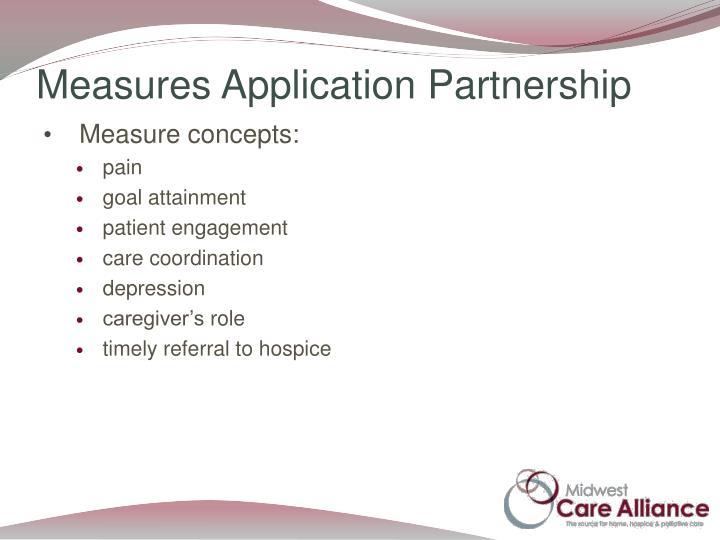 Measures Application Partnership