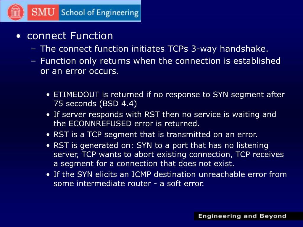 PPT - Elementary TCP Sockets PowerPoint Presentation - ID