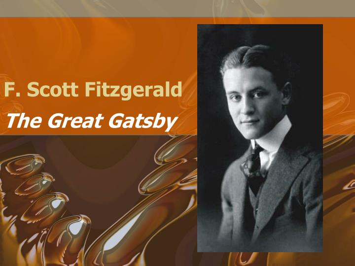 a biography of the writer f scott fitzgerald