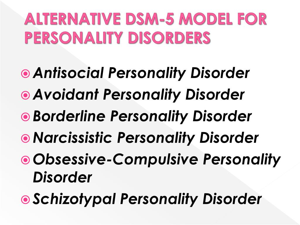 PPT - MANAGING NARCISSISTIC, BORDERLINE AND ANTISOCIAL