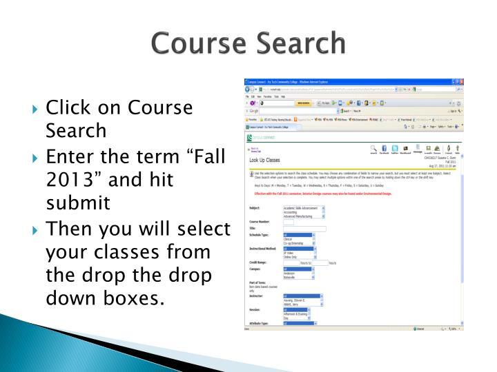 Course Search