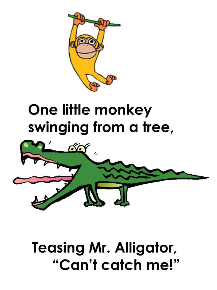 One little monkey