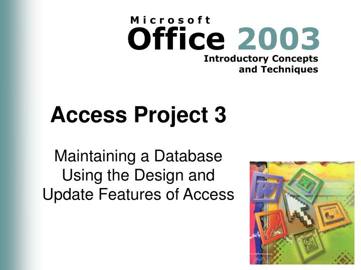 access project 3 n.