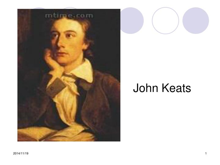 essays on keats odes O for a life of sensations rather than thoughts what is the relation between thought and feeling in keats's odes out of all his poetry, the odes appear to be the most sensually explored poems that keats wrote.