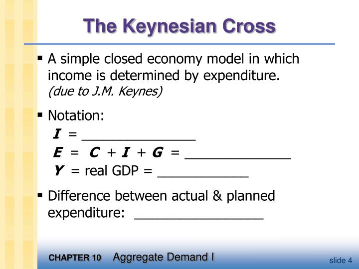 study on keynes income expenditure model economics essay Abstract this article analyzes the concept of the keynesian multiplier from a new perspective several recent studies have shown that the fiscal multiplier is endogenous to the level of economic activity, increasing during recessions and decreasing during the boom.