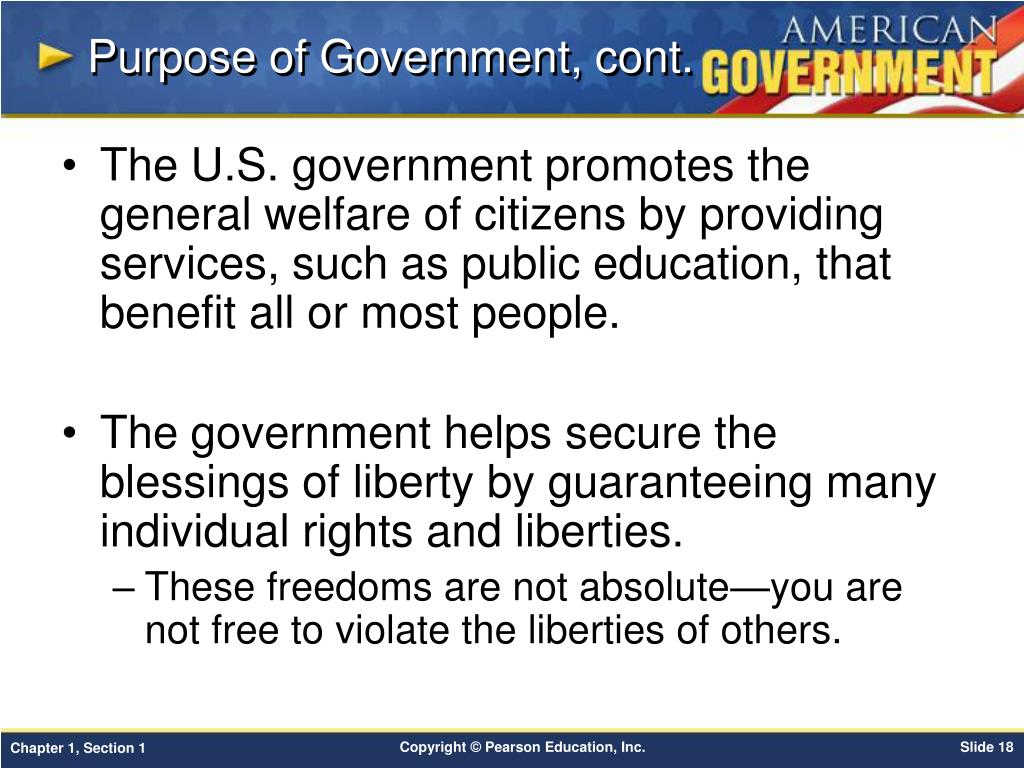 The Preamble to the Constitution does not specify providing for...