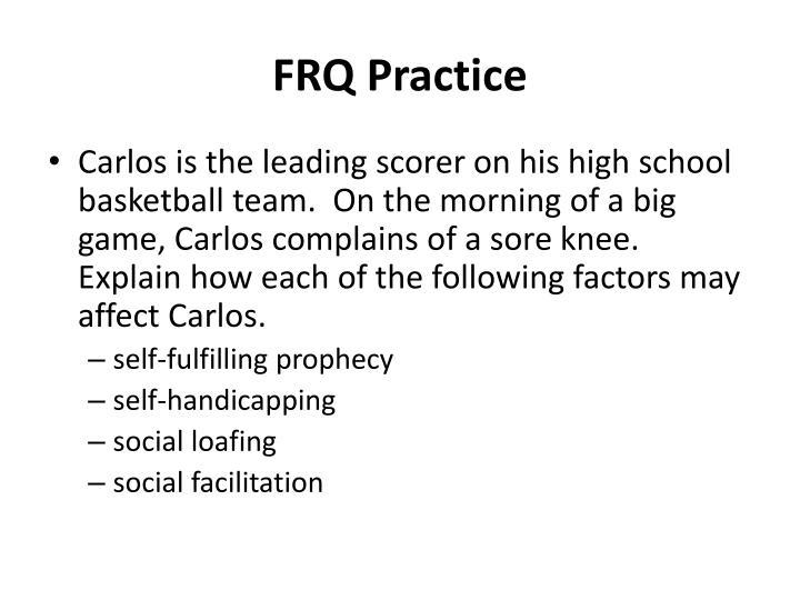 Frq practice
