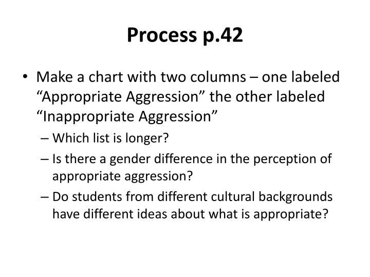 Process p.42