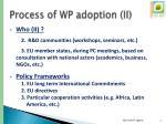 process of wp adoption ii