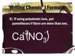 writing chemic a l formulas4