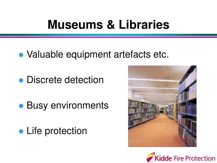 Museums & Libraries