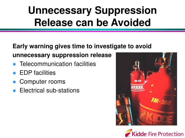 Unnecessary Suppression Release can be Avoided