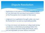 dispute resolution2