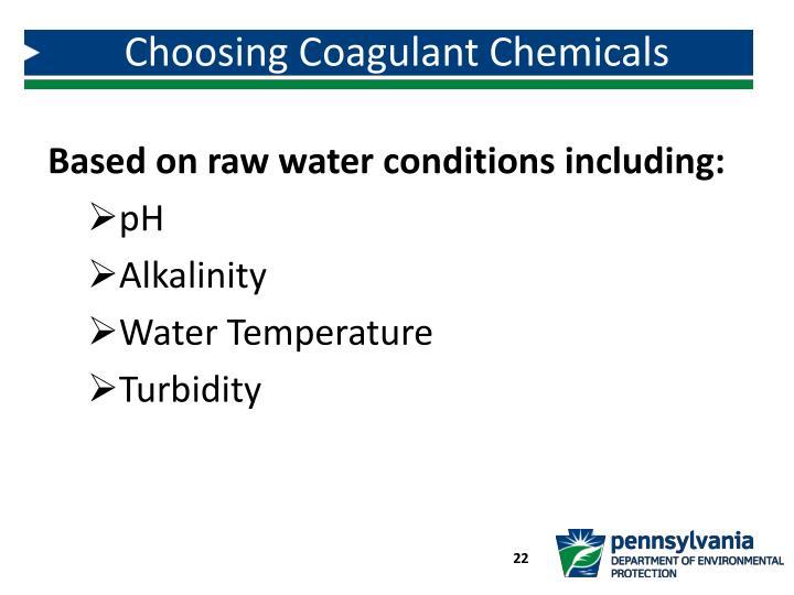 Choosing Coagulant Chemicals