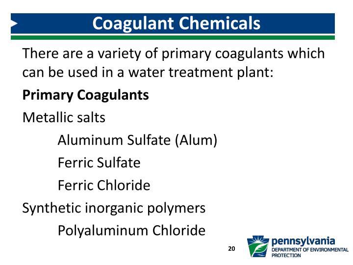 Coagulant Chemicals