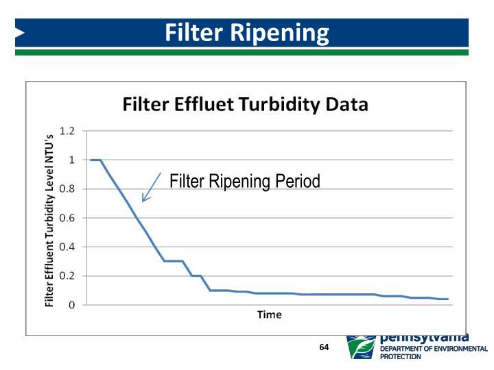 Filter Ripening