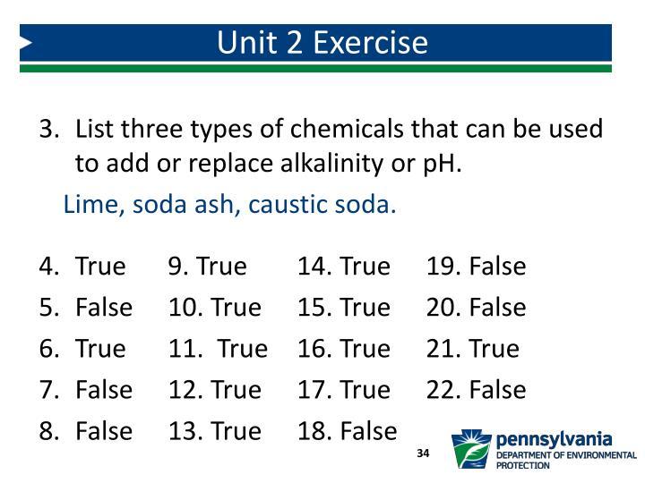 Unit 2 Exercise