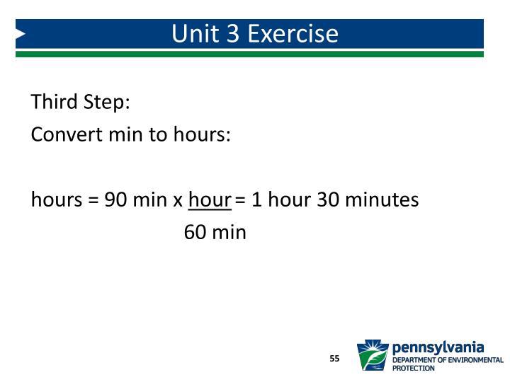 Unit 3 Exercise