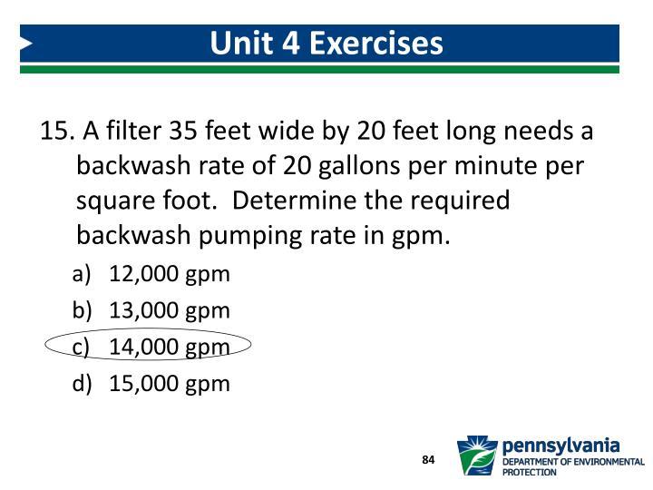 Unit 4 Exercises