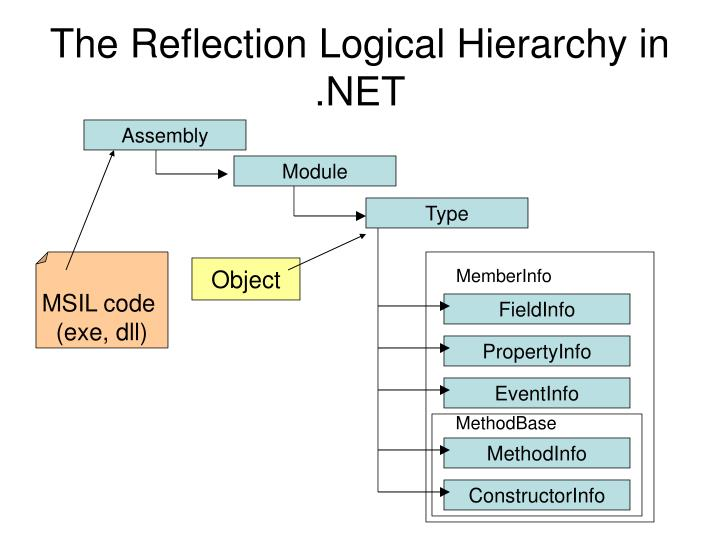 The Reflection Logical Hierarchy in .NET