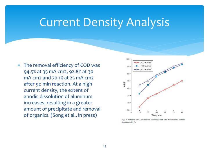 Current Density Analysis