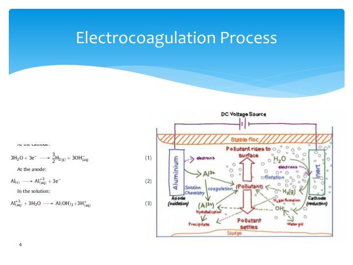 Electrocoagulation Process