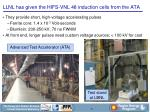 llnl has given the hifs vnl 48 induction cells from the ata