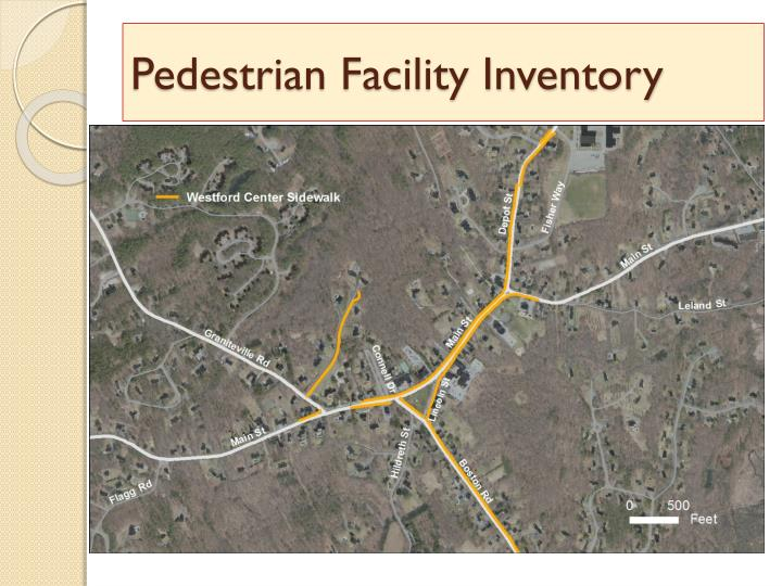 Pedestrian Facility Inventory