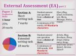 external assessment ea part 2