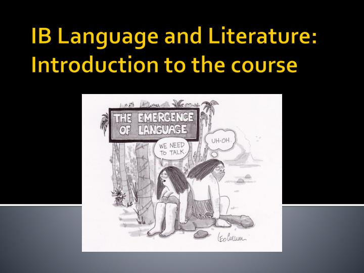 language and literature written task 71 wt1 guidelines and guidance: printed of the description of the written task in the ib language and english language and literature.