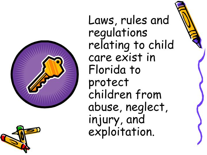 laws and regulations regarding children