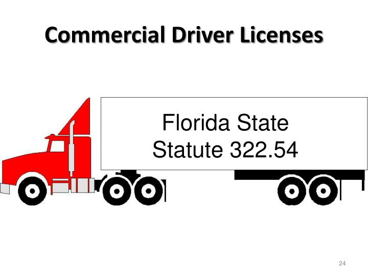 Commercial Driver Licenses