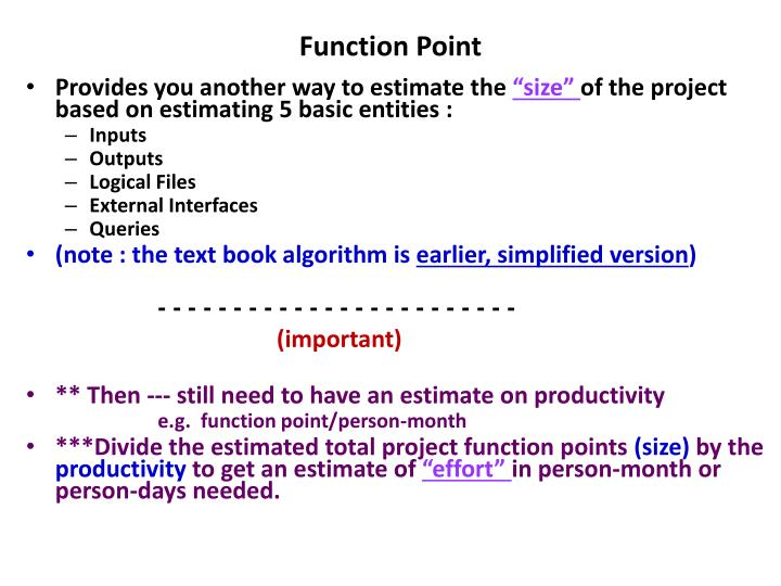 Function Point