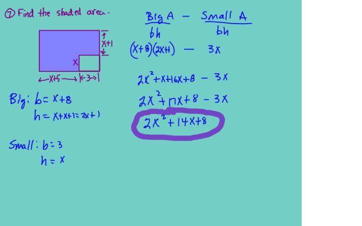 Alg1 8 4 factoring as 2 bx c quiz wk5