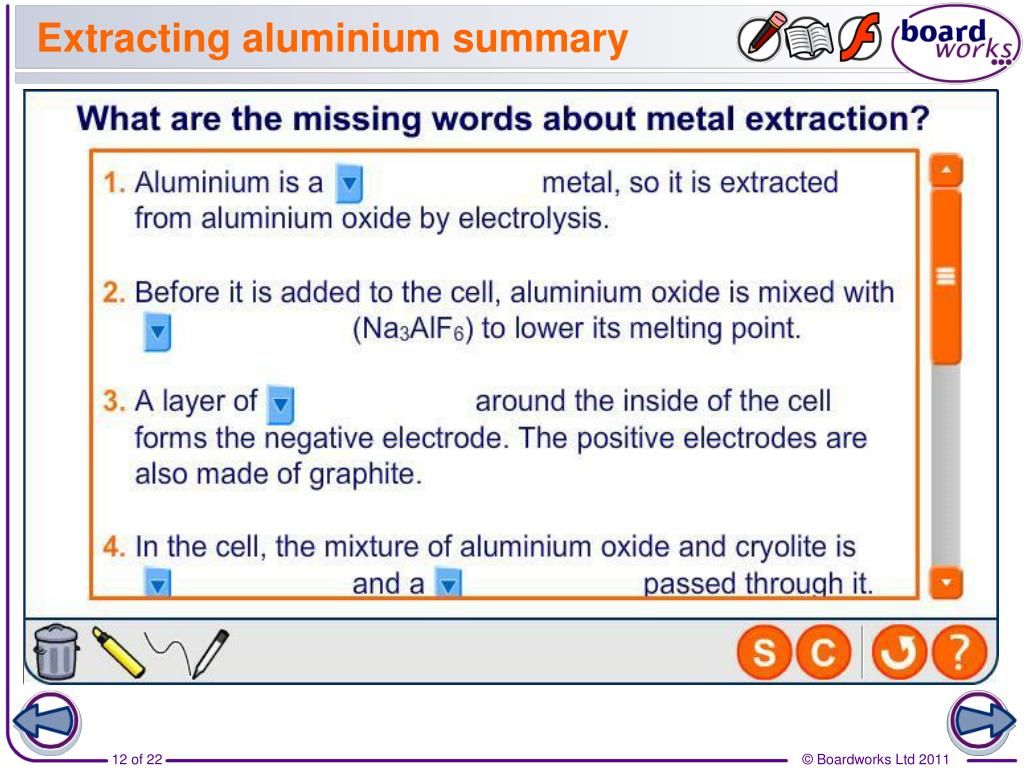 PPT - Extracting Metals by Electrolysis PowerPoint Presentation - ID