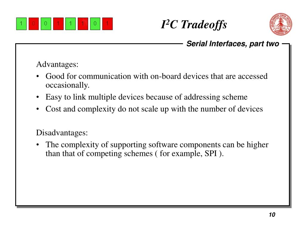 PPT - Serial Interfaces, Part Deux I 2 C and SPI December 4