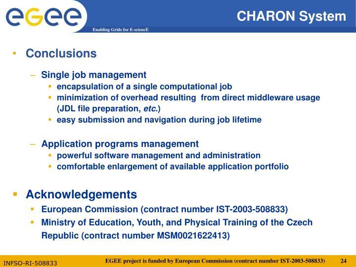 CHARON System