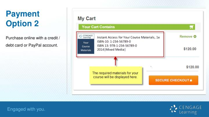 Payment Option 2