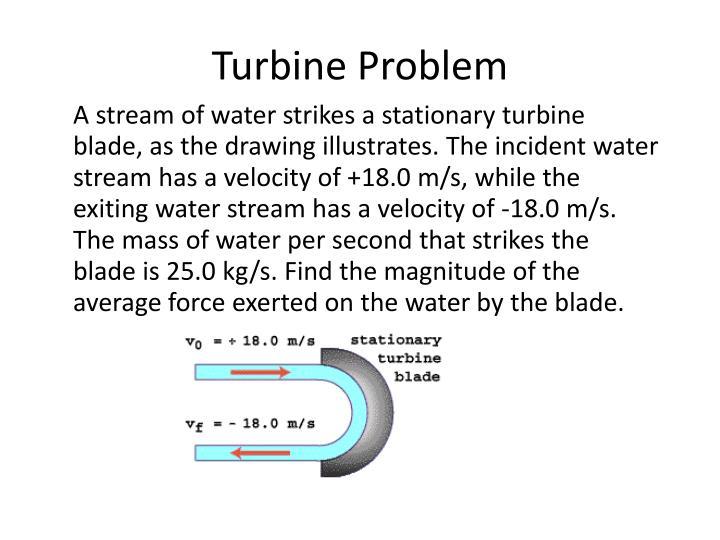 Turbine Problem