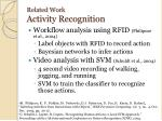 related work activity recognition