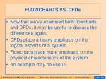 flowcharts vs dfds