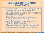guidelines for preparing flowcharts10
