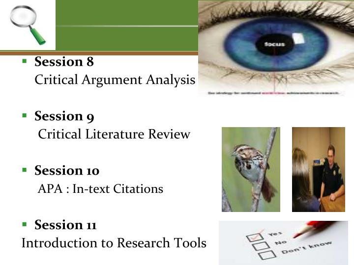critical arguement analysis Argument & critical thinking argument analysis argument analysis sometimes, the best way to learn how to write a good argument is to start by analyzing other.
