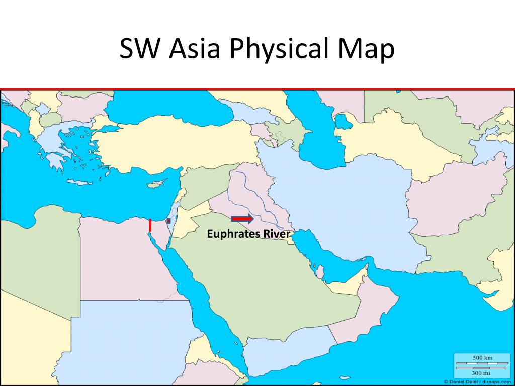 Map Of Asia Euphrates River.Ppt This Is Our World Powerpoint Presentation Id 6820630