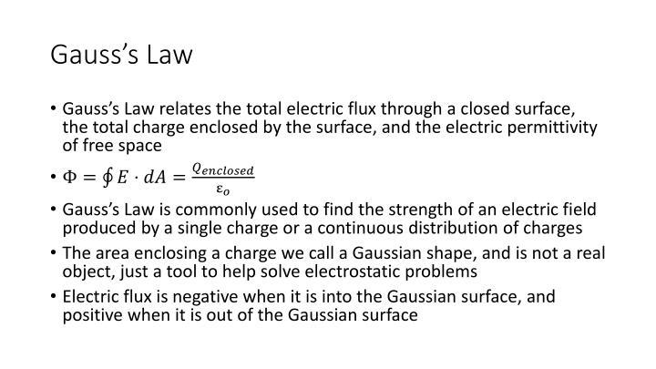 Gauss s law