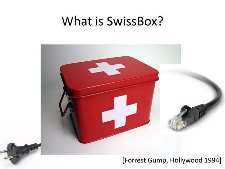 What is swissbox