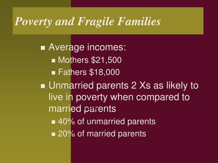 Poverty and Fragile Families