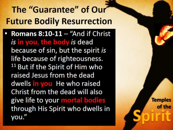 """The """"Guarantee"""" of Our Future Bodily Resurrection"""